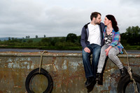 Annie and Duncan's engagement shoot.
